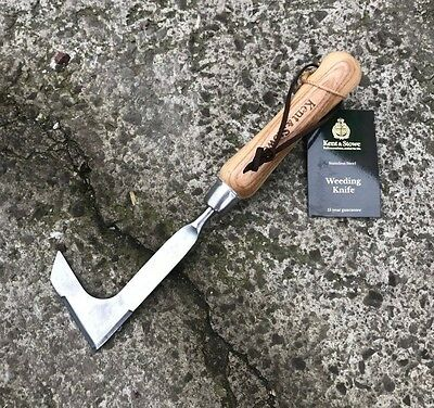 Kent & Stowe Stainless Steel Weed Knife - Patio, Block Paving, Weeding