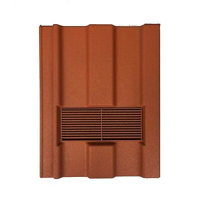 Roof Tile Vent To Fit Marley Ludlow Major | Terracotta Granular | 10 Colours