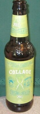 Vintage COLLAGE Conflux Series No. 1 BEER BOTTLE Deschutes/Hair Of The Dog RARE