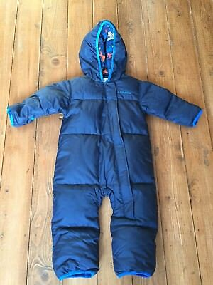 Boy's all in one down ski suit by Columbia age 12-18 months