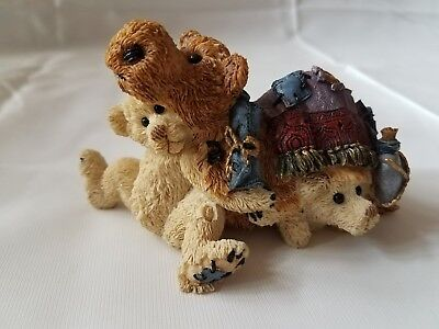 THATCHER & EDEN AS THE CAMEL Nativity Boyds Bears & Friends Folkstone Collection