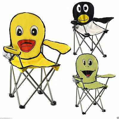 Childrens Kids Portable Camping Garden Beach Fishing Animal Folding Chair Seat