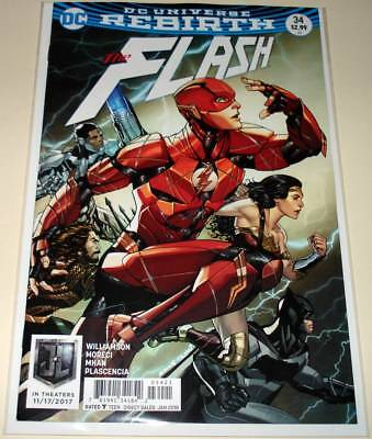 The FLASH # 34  DC Comic  (January 2018)   NM   VARIANT COVER EDITION