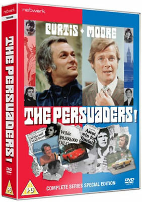 THE PERSUADERS the complete TV series. Roger Moore. 9 disc box set. New DVD.