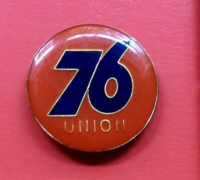 Vintage 1970's 80's Union 76 Oil & Gas Enamel Lapel Hat Pin RARE One