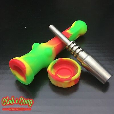 Rasta 14mm Silicone Nectar Collector Pipe