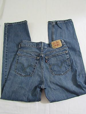Womens Vintage Levis 550 Relaxed fit 27x39  Medium wash high waist Mom Jeans 90s