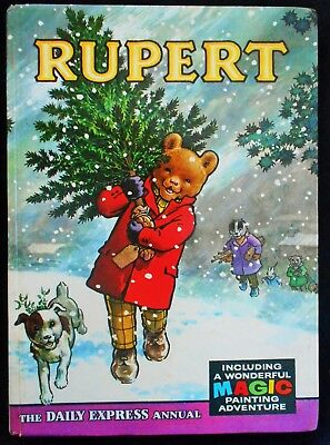 Vintage Original 1965 Rupert Bear Annual, Unscribed/price Unclipped 6/-