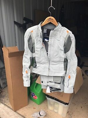 Matching His / Hers BMW motorcycle suits with jackets, pants AND Boots