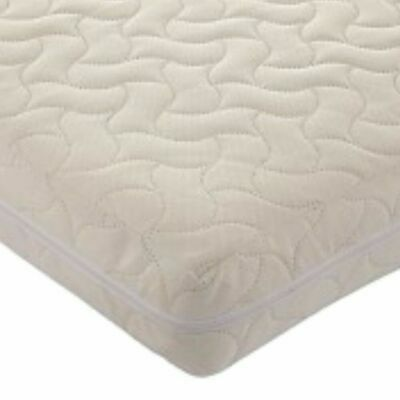 Kids Zip-Up Cot Mattress Cover Washable Protector Reusable Crib Toddler Baby
