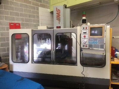 Haas Cnc Milling Machine 4 Axis