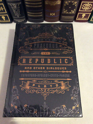 The Republic and Other Dialogues of Plato - leatherbound - New - sealed