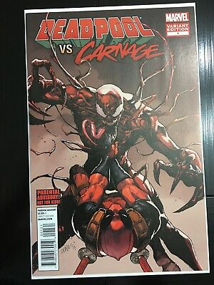 Deadpool Vs Carnage 1 Variant