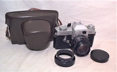 1965 Leicaflex W/ Summicron R 50Mm 1:2 + Hood / Filter Ring / Eveready Case