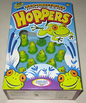 Hoppers Peg Solitaire Jumping Game by Binary Arts