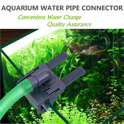 Clip Acrylique Fixation Support Aquarium Tube Tuyau Flexible Filtre Fish Tank