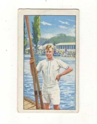 Gallahers Rowing Card, Olympian T.G. Askwith