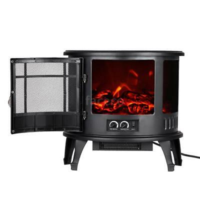 eurosell elektrischer kamineinsatz kamin ofen einsatz elektro elektrisch feuer eur 69 99. Black Bedroom Furniture Sets. Home Design Ideas