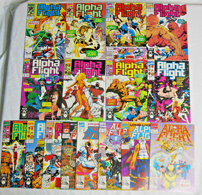 ALPHA FLIGHT #80 85 86 94-95 97-101 & More * Marvel Lot * 16 Comics -100 Special