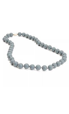NWT Chewbeads Jane Necklace Teether Grey NEW Free Shipping Baby