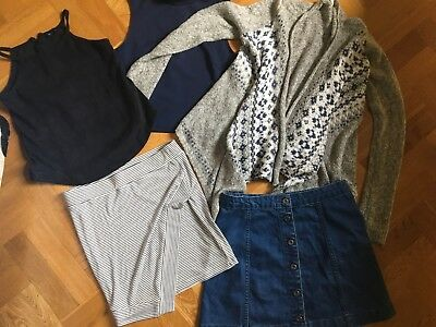 SEED TEEN & ABERCROMBIE Girl Bundle Size 12/14 Mainly NEW WITHOUT TAGS