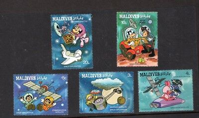 Disney Space Exploration Stamps - Maldives