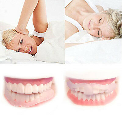 1/2/3 Silicone Dental Mouth Guard Bruxism Sleep Aid Night Teeth Tooth Grinding