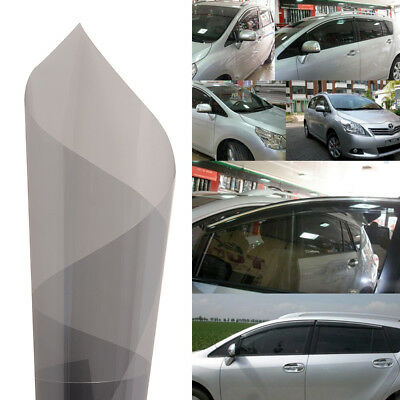 1Pcs Gray  Auto Side Window Solar Film Tint 0.5Mx3M UV Explosion-proof Film US