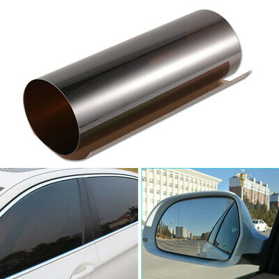 Black Auto Window Tint Solar Films Car Explosion-proof Film Membrane 0.5*3m US