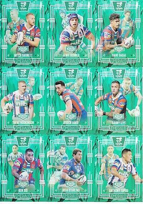 2017 Nrl Elite Limited Edition Emerald Mojo Team Set - Newcastle Knights #07