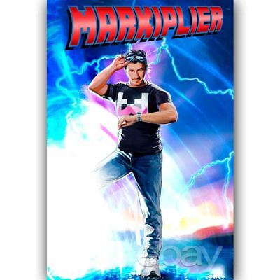 Custom Silk Poster Markiplier Wall Decor