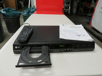 Lg  Dvd Player Recorder Model Dr275 With Remote  & Manual