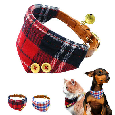 5pcs/lot Soft Cotton Bandana Dog Collars Neckerchief Neck Scarf for Small Puppy