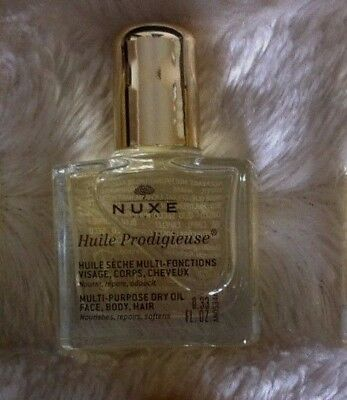 Nuxe huile Prodigieuse,huile sèche multi fonctions,visage,corps,yeux, 10ml,NEUF