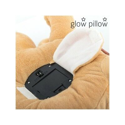 Peluche Veilleuse Chiot avec Projection LED Glow Pillow - Neuf