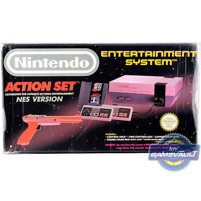 1 x Box Protector for Nintendo NES Games Console Action Set 0.5mm Plastic Case