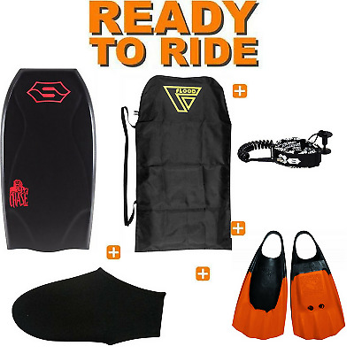 Pack Bodyboard Sniper Chase PE Action Series Noir