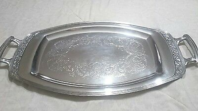 Community Plate Oneida Coronation Silver Plated Large Waiters Tray