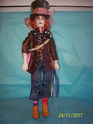 Mad Hatter Doll Disney From Alice Through The Looking Glass