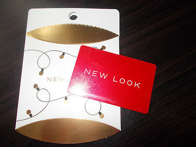 £20 New Look Gift Card Free 1st class P&P