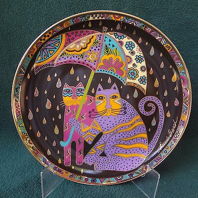 LAUREL BURCH CAT PLATE Fair Weather Felines