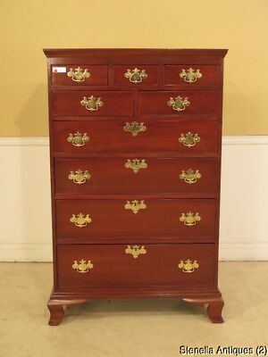 F23869: Period 19 C. American Made Cherry Chest Of Drawers