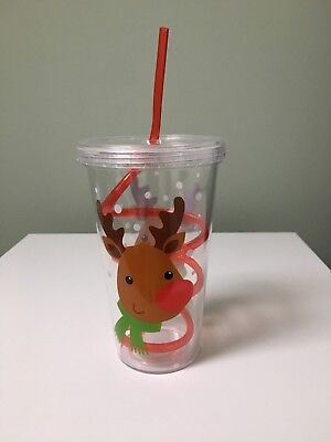 Christmas Cup And Straw