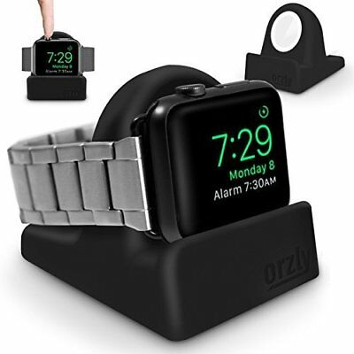 Apple Watch Stand Series 3 42mm & 38mm iWatch Charging Dock Nightstand Black New