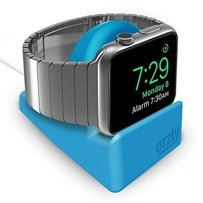 Apple Watch Stand Series 3 42mm & 38mm iWatch Charging Dock Nightstand Blue New