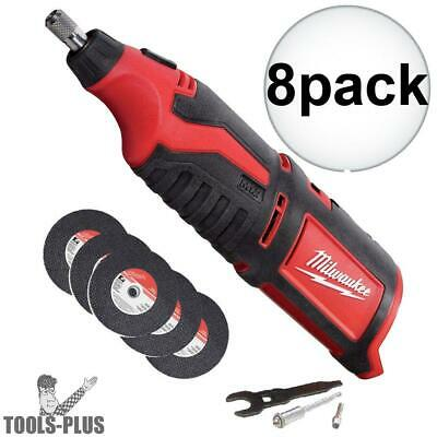 Milwaukee 2460-20 12 Volt M12 Cordless Rotary Tool (Tool Only) 8x New