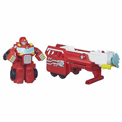 Playskool Heroes Transformers Rescue Bots Hook & Ladder Heatwave Set