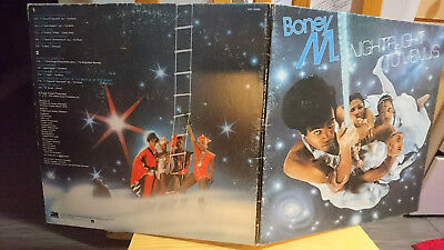 Boney M - Night Flight to Venus LP vinyl record