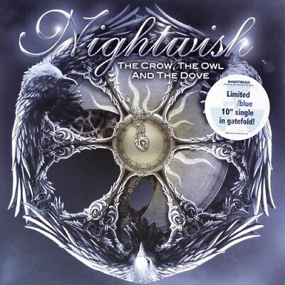 "NIGHTWISH ‎- The crow, the owl and the dove / Vinyl 10"" (Ltd. Grey/Blue Vinyl)"