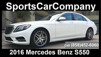 2016 Mercedes-Benz S-Class S550 2016 MERCEDES BENZ S550 LOADED 1 OWNER CAR SUPERB w/MSRP $114k  CALL NOW $77,998